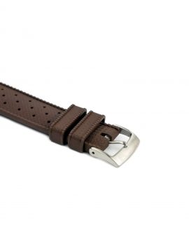 Tropical Rubber watch strap_Brown_Buckle