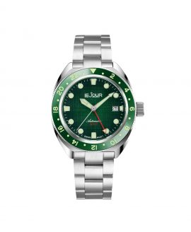 LJ-HH-GMT-003 textured green dial