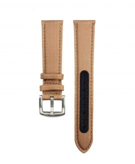 Premium Sailcloth watch strap khaki WB Original front