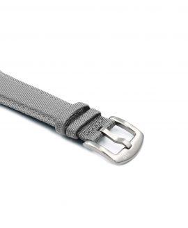 Premium Sailcloth watch strap light grey WB Original buckle