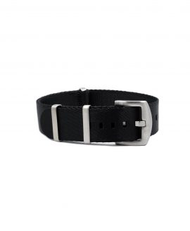 Premium_Nato-straps brushed_black_front