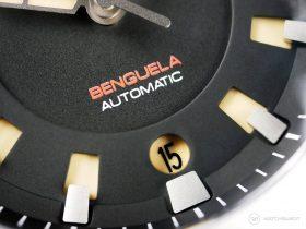 Draken Bengula Watch - sandwich dial date window