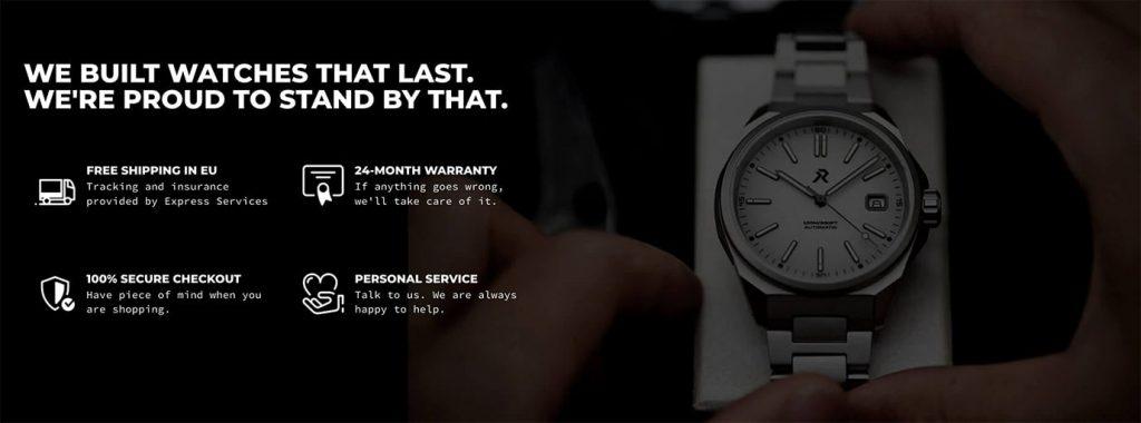 RZE Watches Warranty