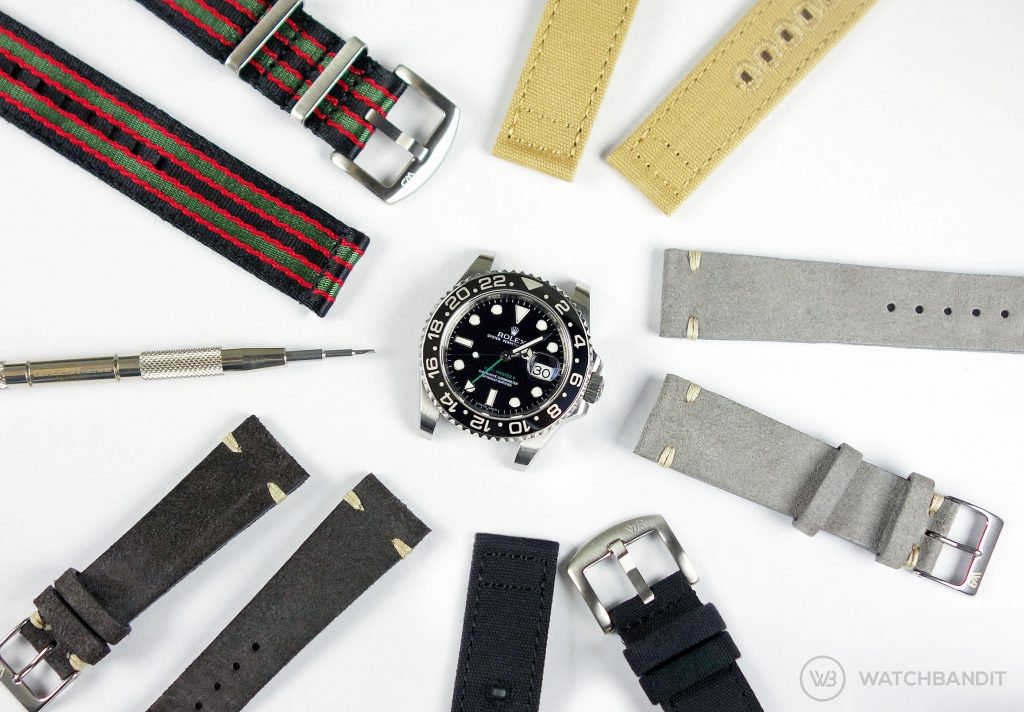 Rolex GMT Master II Strap Collection WatchBandit Original