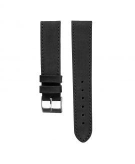 Pebro Premium Calfskin Watch Strap Black No 191