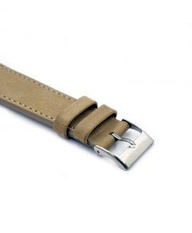 Pebro Premium Calfskin Watch Strap Sand/Beige No 581
