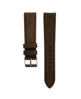Pebro Premium Calfskin Watch Strap Hazelnut/Dark Brown No 191