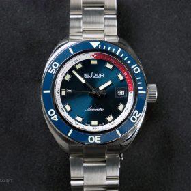 Le Jour Hammerhead blue dial LJ-HH-002