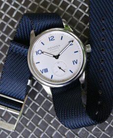 NOMOS Club Campus dunkel premium einlagiges NATO uhrenarmband Watchbandit