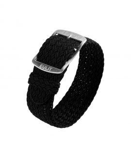 Eulit Perlon Watch Strap_Black-min