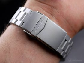 Draken Bengula Watch - Deployand clasp bracelet