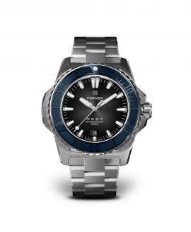 Formex - Reef - Automatic Chronometer COSC 300m_Black Dial Blue Bezel