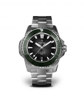 Formex - Reef - Automatic Chronometer COSC 300m_Black Dial Green Bezel