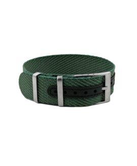 Premium Adjustable Single-Pass Nato Strap_Green_WB Original-min