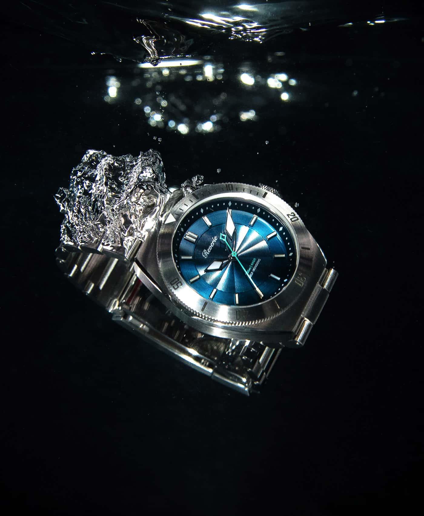Reviere Diver Blue-water drop