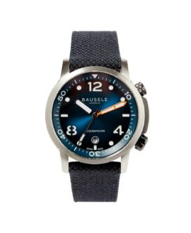 BASELE WATCHES_ Oceanmoon IV - Blue - front