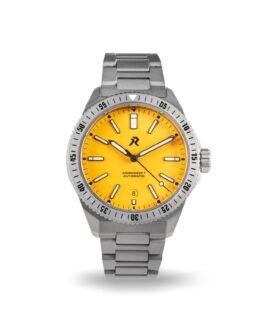 RZE - Endeavour - Medallion Yellow - front date